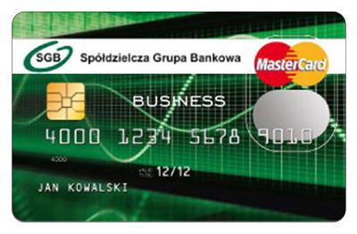 MasterCard Business kredytowa