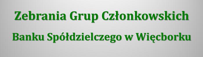 Zebrania Grup Członkowskich 2019